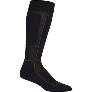 Icebreaker Ski+ Medium OTC Socks Women black/royal navy/espresso black/royal navy/espresso