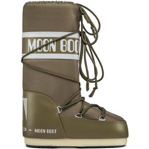Moon Boot Nylon Bottes, marron marron