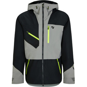 Ziener Trus Ski Jacket Men, czarny/szary czarny/szary