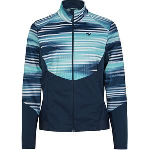 Ziener Nuretta Active Jacket Women dark navy/arcadian stripe dark navy/arcadian stripe