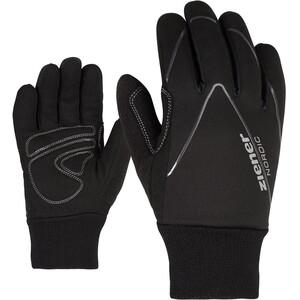 Ziener Unico Cross-Country Gloves Kids, noir noir