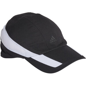 adidas Aeroready Retro Tech Reflective Running Cap Women, noir/blanc noir/blanc