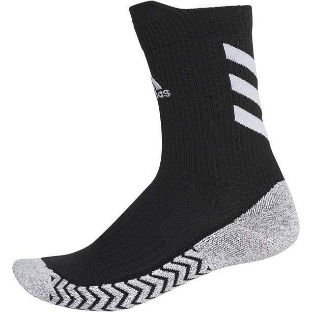 adidas Alphaskin Traxion Crew Socks, noir/gris