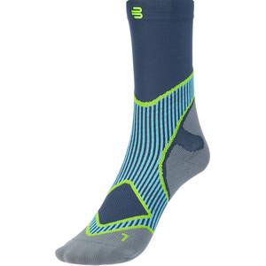 Bauerfeind Run Performance Mid Cut Socks Men, bleu bleu