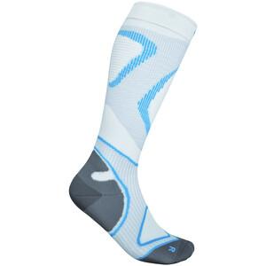 Bauerfeind Run Performance Compression Socken Herren weiß/blau weiß/blau