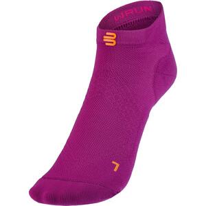 Bauerfeind Run Ultralight Low Cut Socks Women berry berry