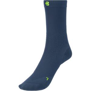 Bauerfeind Run Ultralight Mid Cut Socks Men, bleu bleu