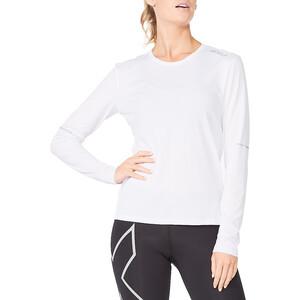 2XU Aero Langarm Shirt Damen weiß weiß