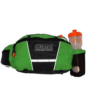 OMM Ultra Waist Pouch 6l with Bottle green/black green/black