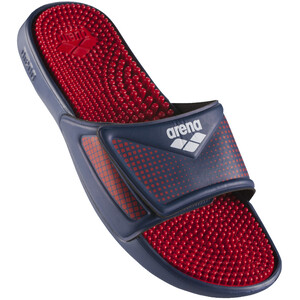 arena Hook & Loop Slides, bleu/rouge bleu/rouge