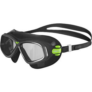 arena Orbit 2 Schutzbrille schwarz schwarz