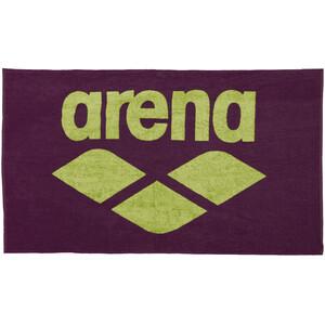 arena Pool Soft Serviette pour chien, violet/jaune violet/jaune