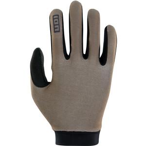 ION Logo Handschuhe braun/schwarz braun/schwarz