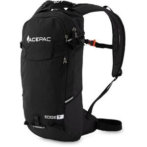 Acepac Edge 7 Daypack schwarz schwarz
