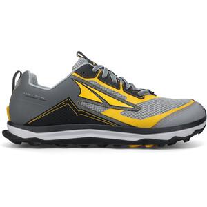 Altra Lone Peak 5 Trail Running Shoes 10th Anniversary Men, gris/amarillo gris/amarillo
