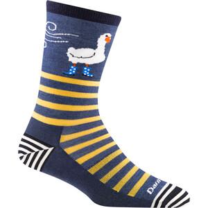 DARN TOUGH VERMONT Animal Haus Crew Lightweight Socks Women blå blå