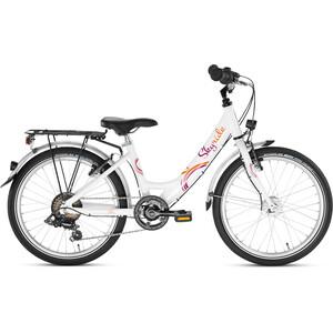"Puky Skyride 20-6 S-Ride 20"" Girls vit vit"