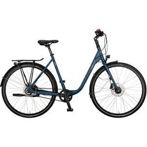 vsf fahrradmanufaktur S-300 Wave Disc Gates Nexus 8-speed FL, Bleu pétrole Bleu pétrole