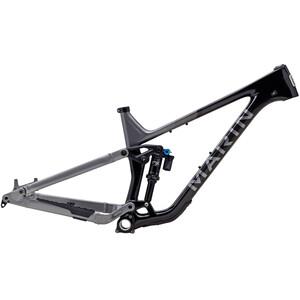 Marin Alpine Trail Carbon 2 Kit de cuadro, negro/Plateado negro/Plateado