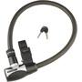 Kryptonite Hardwire 2085 Key Cable Fahrradschloss schwarz