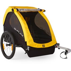 Burley Bee Rimorchio per bambini, nero/giallo nero/giallo