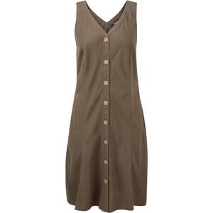 Sherpa Kiran Dress Women, ruskea/oliivi ruskea/oliivi