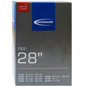"""SCHWALBE No.20 チューブ 28"""", Extralight road/triathlon"""