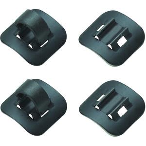 Jagwire Schalt- und Bremsleitungshalter schwarz schwarz