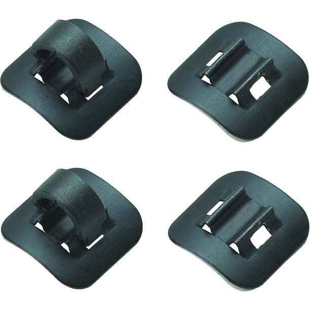Jagwire Schalt- und Bremsleitungshalter schwarz