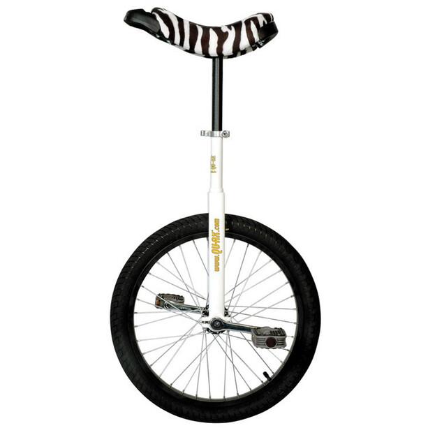 QU-AX Luxus Ethjulet cykel, hvid