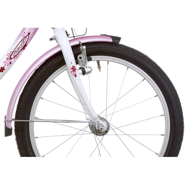 """Vermont Girly 16"""" Fille, rose/blanc"""