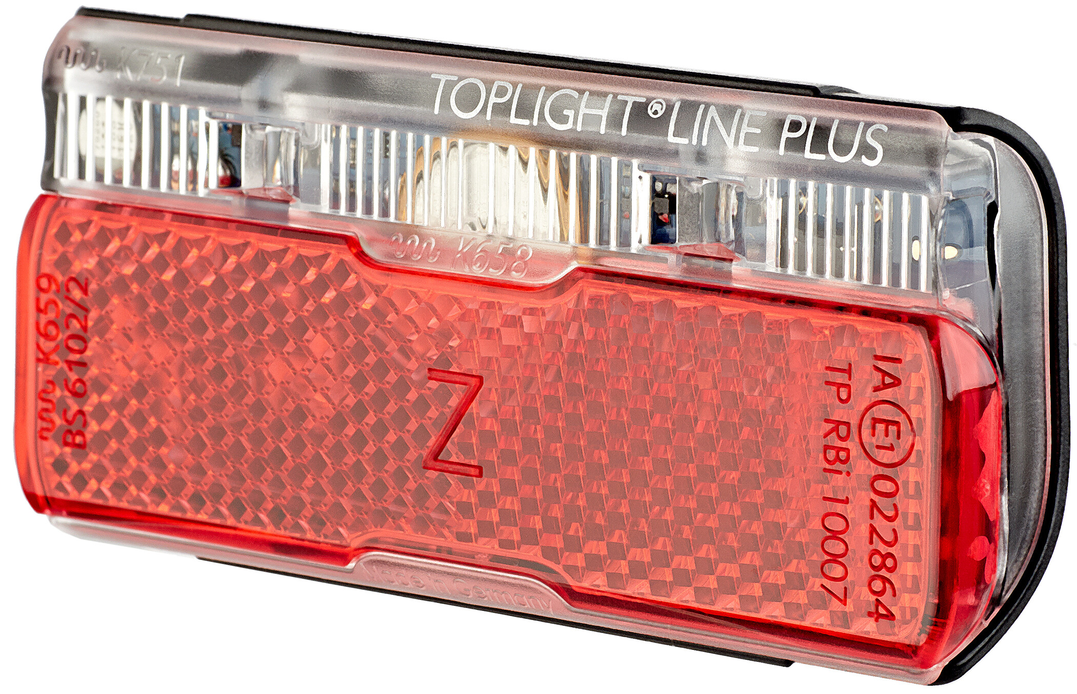 Rcklicht B/&M SECULITE Plus 1 LED Ausrstung