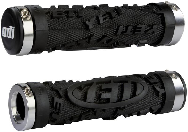 ODI Yeti Hardcore Griffe Bonus Pack schwarz schwarz, Klemmring schwarz 2019 Grif