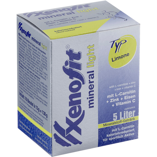 Xenofit Mineral Light Drink Portion Bags 10x36g Lemon