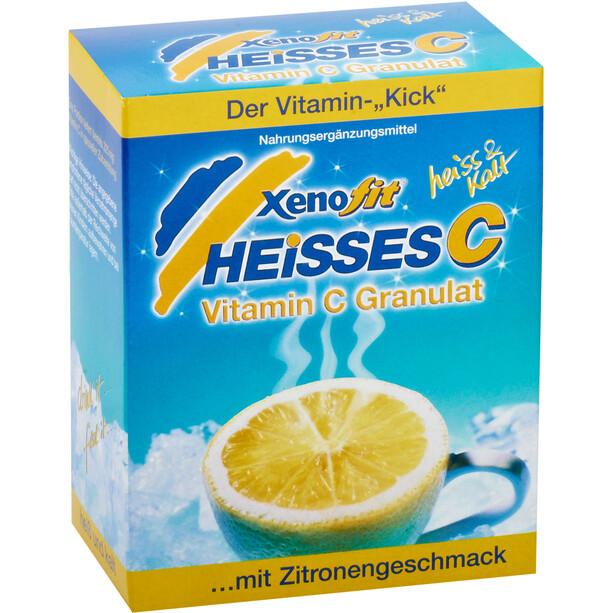 Xenofit Heißes C Nahrungsergänzungsmittel Portionsbeutel 90g Lemon