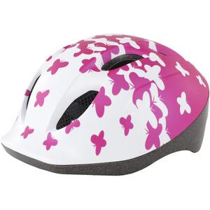MET Buddy Helm Kinder pink butterflies pink butterflies
