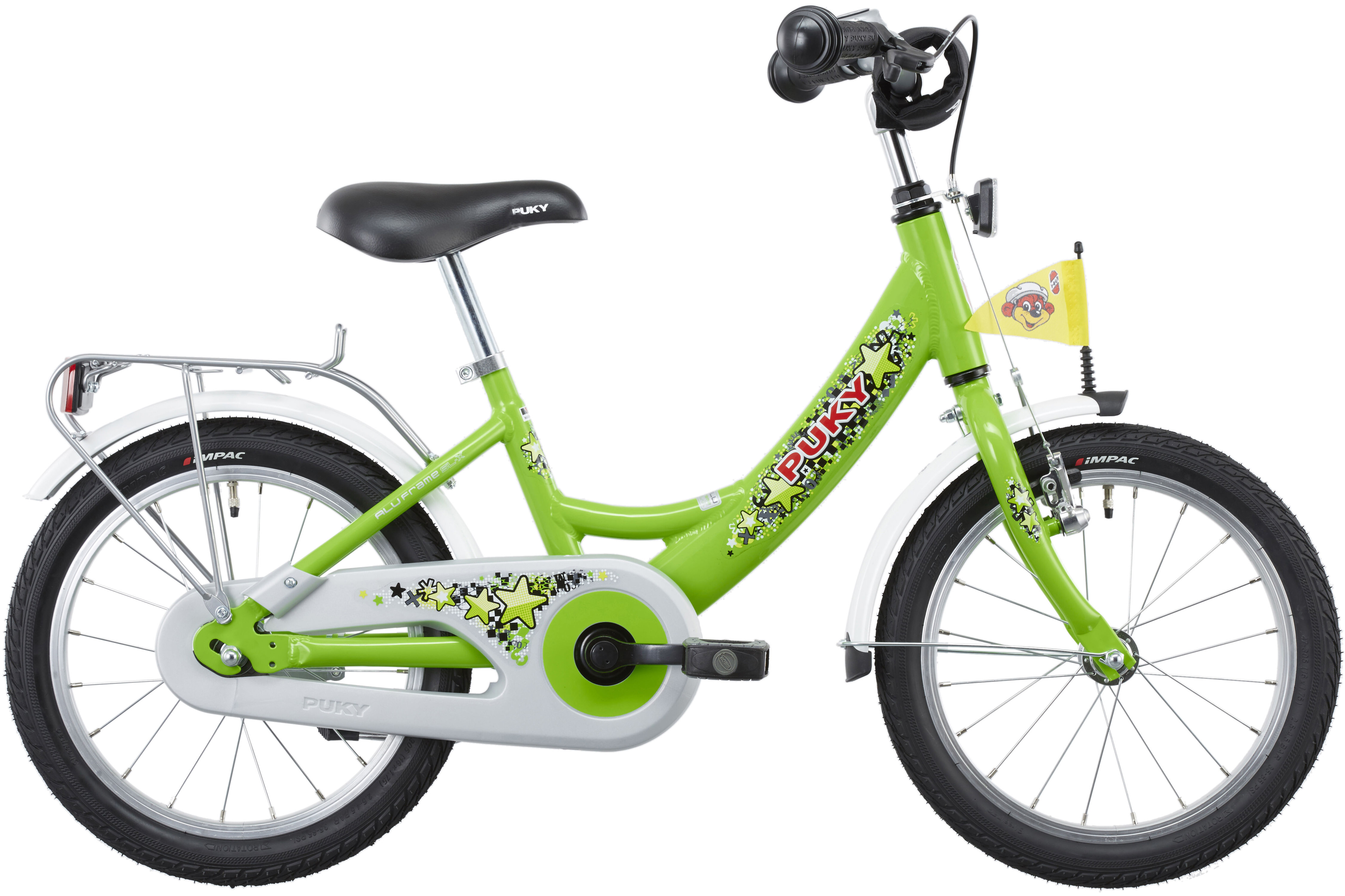 puky zl 16 1 alu kinderfahrrad 16 kiwi online kaufen. Black Bedroom Furniture Sets. Home Design Ideas