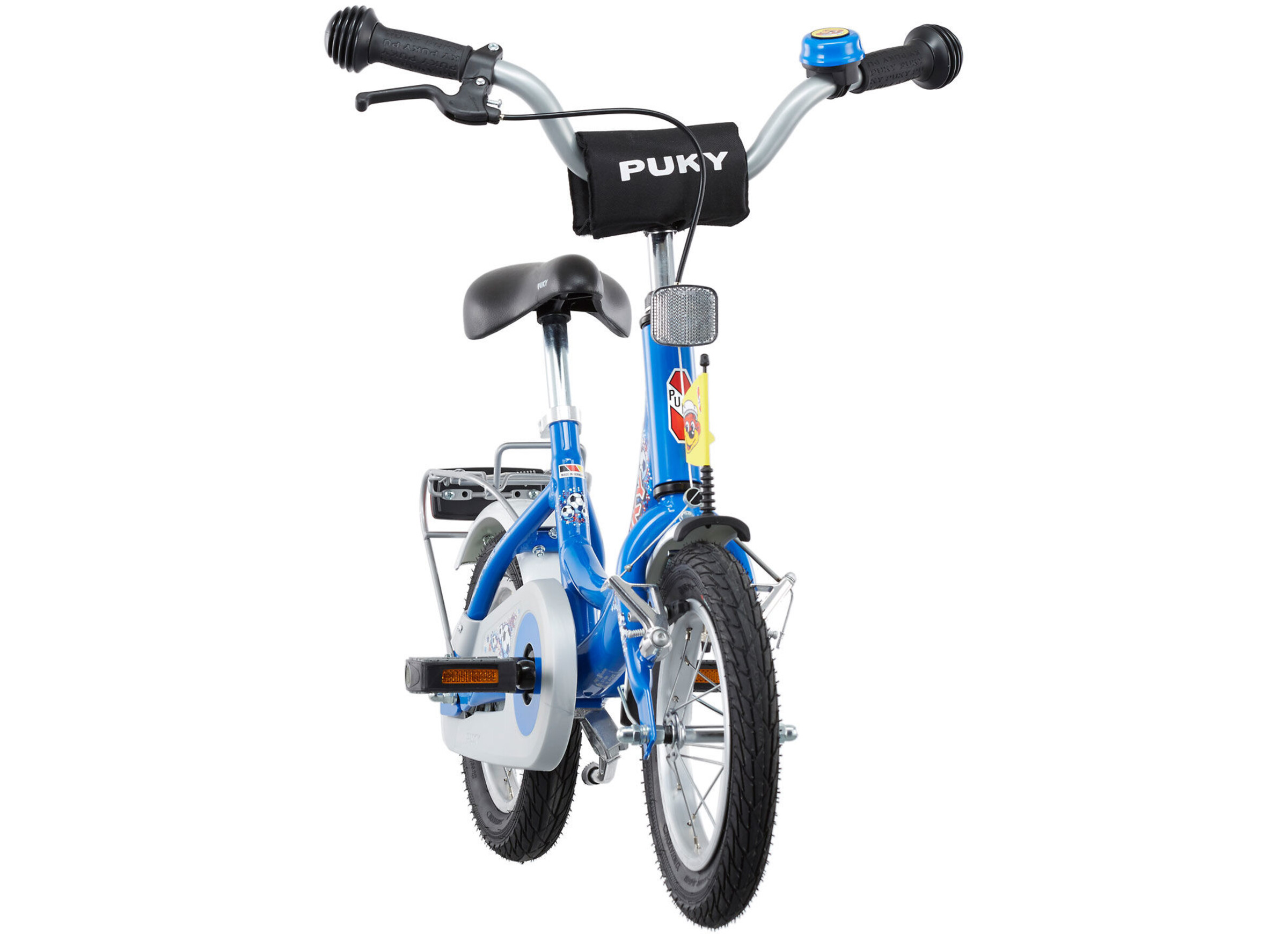 puky zl 12 1 alu kinderfahrrad 12 fussball blau online bei. Black Bedroom Furniture Sets. Home Design Ideas
