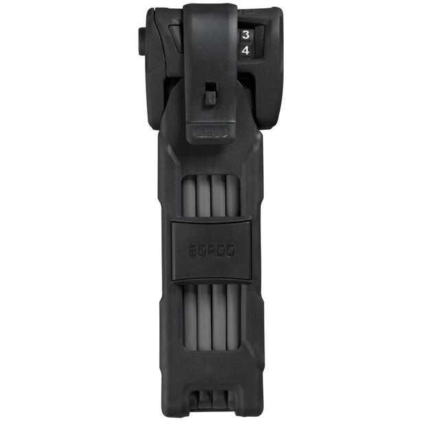 ABUS Bordo Combo 6100/90 ST Antivol pliant, black