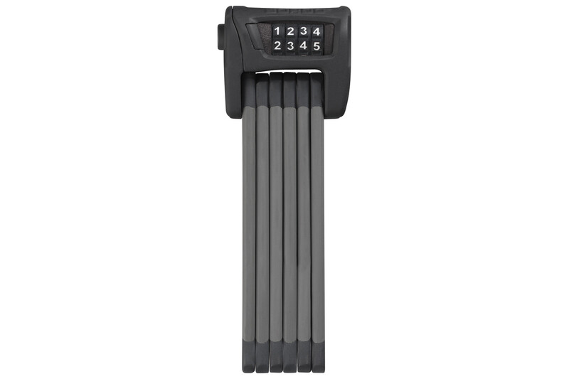 Abus Bordo Combo 6100/75 Gelenkschloss schwarz 2019 Faltschlösser, Gr. schwarz