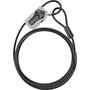 ABUS Combiloop 205 Kabelschloss schwarz