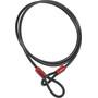 ABUS Câble Cobra 8/200 Câble antivol, noir