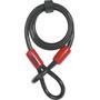 ABUS Cobra 12 Loop Cable svart