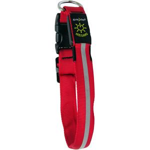 Nite Ize NiteDawg LED-Collar, rouge/noir rouge/noir