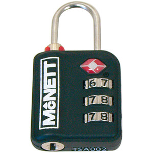 McNett TSA Zahlenschloss black black