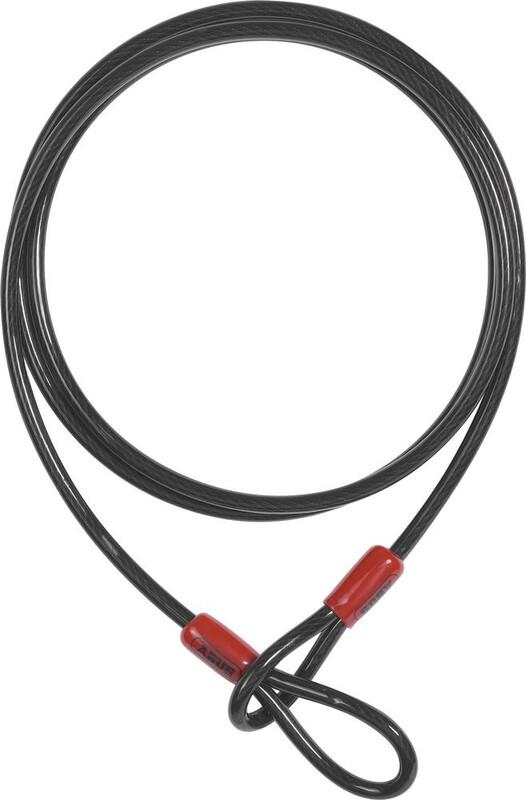 ABUS Cobra 10/200 Sløyfekabel Svart  2021 Låsholdere