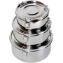 Basic Nature Stainless Steel Food Container Small