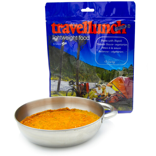 Travellunch Outdoor Mahlzeit Pasta with Napoli Tomato Sauce