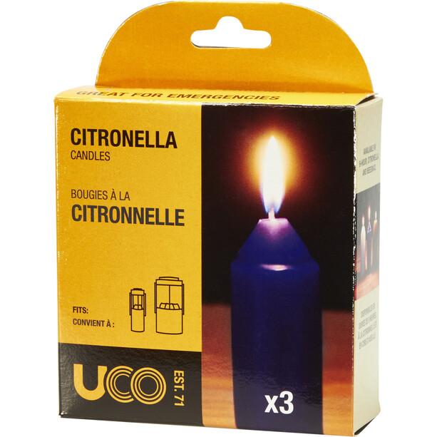 UCO Kerzen Citronella 3 Stück