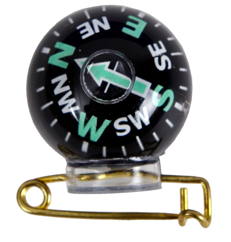 Coghlans Pin-On Kompass  2018 Kompasse